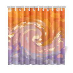 "BEGINNING Shower Curtain 72""x72"""