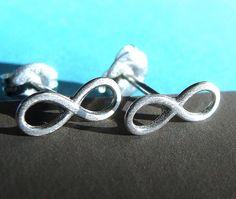 infinity earrings <3