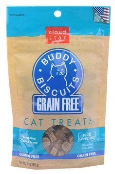 (Affiliate post) Cloud Star Buddy Biscuits Cat Treats Tempting Tuna -- 3 oz(packof2)