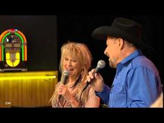 Moe Bandy & Becky Hobbs - Let's Get Over Them Together - YouTube