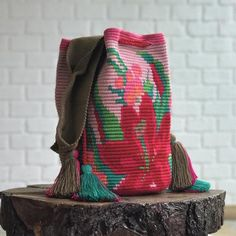 Wayuu Mochila Rosada Bag