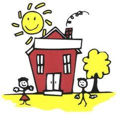 Maestra de Infantil: La casa. Dependencias de la casa. Dibujos de objetos de la…