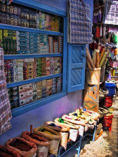 A Souk in MOROCCO.      (by Gerggl, via Flickr)