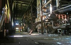 Copper Cliff Iron Ore Recovery Plant | Invisible Threads: Abandoned Industrial Photography