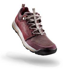 new arrival 22fce 26bfc Chaussures de randonnée nature NH500 bordeaux femme QUECHUA