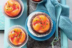 Poznáte rozdiel medzi želé a želatínou? Cheesecake Cupcakes, Cantaloupe, Ale, Muffins, Fruit, Breakfast, Cheesecake Bars, Mandarin Oranges, Food Food