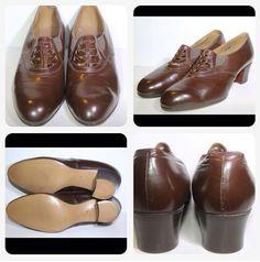 1940s CC41 shoes - dead stock