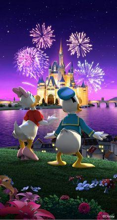 Disney Duck, Disney Love, Disney Magic, Disney Mickey, Disney Art, Mickey Mouse Art, Mickey Mouse Wallpaper, Disney Phone Wallpaper, Chateau Disney