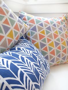 summer pillows from Proud Mary