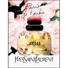 Paris - YSL - le parfum de ma maman <3