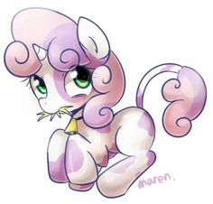 Cow belle by Marenlicious on DeviantArt Sweetie Belle, Cute Ponies, My Little Pony Merchandise, New Twitter, Awkward Moments, The Magicians, Wool Felt, Smurfs, Cool Art