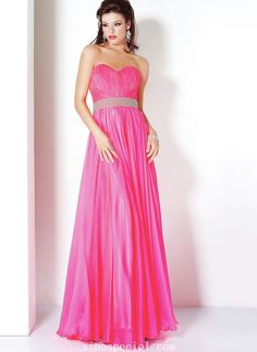 Amazing Fuchsia Sweetheart Neckline Chiffon Homecoming Dress