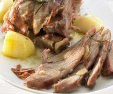 Rezept Putenkeule mit Speck und Kartoffeln von Thermomix Rezeptentwicklung - Rezept der Kategorie Hauptgerichte mit Fleisch