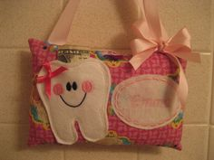 Tooth Fairy PillowPersonalized Tooth Fairy Pilllow-Froze by 4Brig