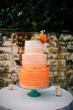 When friends ask you to make their wedding cake, you say yes.