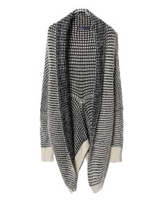 Stripe Knitted Pod Cardigan | Chicnova