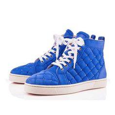 2017 Blue Leather 160 Pump Shoes SH40675