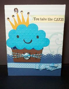 Create a Critter card. cup cake on page use crown on page 21 Cricut Birthday Cards, Kids Birthday Cards, Cricut Cards, Create A Critter, Cricut Cartridges, Big Project, Birthday Cupcakes, Paper Cards, Kids Cards