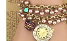 Ceas de Dama Casual Geneva, Ants, Bracelet Watch, Casual, Accessories, Fashion, Moda, Fashion Styles, Ant