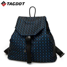 Special offer 2017 BaoBao backpack female Fashion Girl Daily backpack Geometry Package Sequins Folding Bags just only $32.39 with free shipping worldwide  #backpacksformen Plese click on picture to see our special price for you