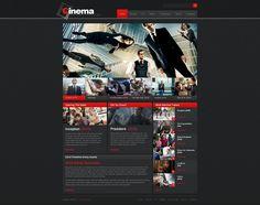 30725_01home_big Portfolio Web Design, Web Design Agency, Web Design Tips, Web Design Trends, Html Templates, Blogger Templates, Theme Anchor Charts, Teaching Themes, Movie Website