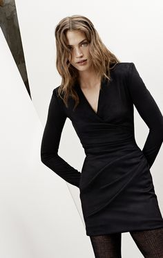 WINTER DRESS TIME ! by Modalist.  MAJE - Les looks automne hiver 2014 2015
