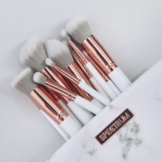 I just want some pretty makeup brushes :) Spectrum make up brushes