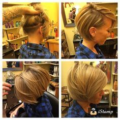 Love this! But without the undercut since my hair is so thin
