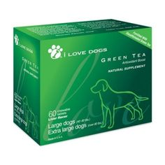 """Our Green Tea supplement is a Modern Dog Magazine """"Fave Find!"""""""