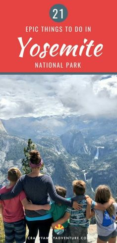 There are so many epic things to do in Yosemite National Park it can be hard to pick where to spend your time! Here is our list of the top 21 things you don't want to miss when you visit. Escalante National Monument, Sequoia National Park, National Parks, Camping In England, Camping In Ohio, Family Camping, Family Travel, Camping Places, Rv Camping