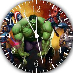 The Avengers Super Hero Hulk Frameless Borderless Wall Clock Nice For Gift or Room Wall Decor Avengers Nursery, Avengers Room, Boys Room Decor, Room Wall Decor, Kids Room, Big Boy Bedrooms, Baby Boy Rooms, Superhero Room, Bedroom Themes