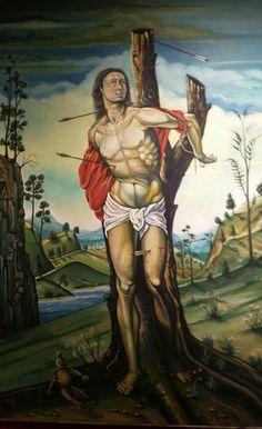 Josue Rodriquez Valido | St Sebastian | Oil on linen