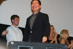 Fedcon XV, Opening Ceremony - George Takei, Connor Trinneer on the background. May 19th, 2006