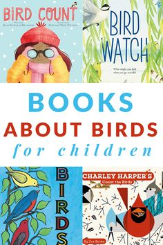 do lists or books Great ideas for books about birds for kids that work for toddlers, preschoolers, and young children. Includes a printable book list. Best Children Books, Toddler Books, Young Children, Childrens Books, Children Reading, Math Books, Preschool Books, Book Activities, Preschool Activities
