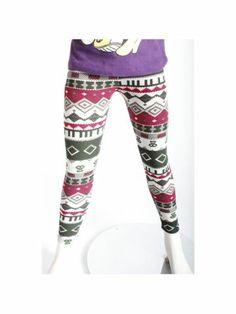 $6.95 Girls Aztec Print Leggings
