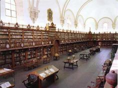 Biblioteca dell'Università di Salamanca - Spagna