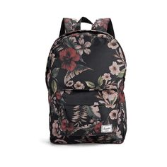 Herschel Classic Hawaiian Camo Print Backpack ($57) ❤ liked on Polyvore featuring bags, backpacks, woven backpack, herschel, camouflage backpack, faux-leather backpack and stripe backpack