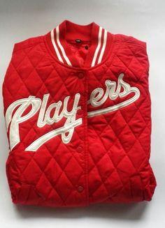 Kup mój przedmiot na #vintedpl http://www.vinted.pl/damska-odziez/kurtki/10313442-czerwona-pikowana-kurtka-baseballowa