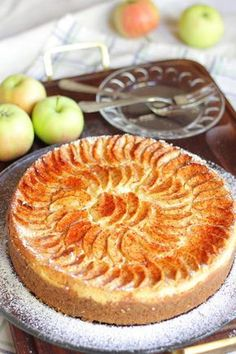Cake Recipes, Dessert Recipes, Desserts, Cheesecakes, Apple Pie, Food And Drink, Sweets, House Cafe, Food Cakes