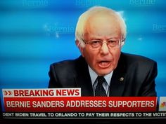 """#Bernie #Dropped By Cable News When He Doesn""""t Drop Out Of #Race..."""