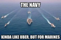 Navy, Uber for Marines