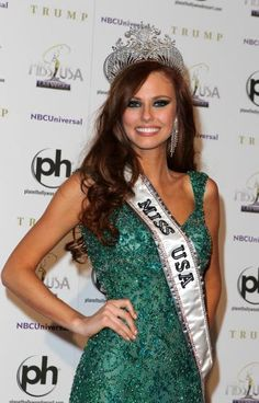 Miss USA Alyssa Campanella...her look and style have been flawless throughout her entire reign. <3 her.
