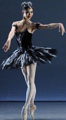 ZsaZsa Bellagio — gavrilushka: Shoko Nakamura as Odile. She dances...