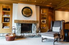Suite at The Alpina #Gstaad, #Switzerland