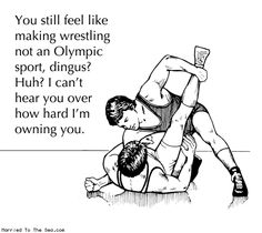 wrestling as olympic sport