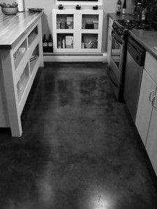 dark polished concrete floor. Concrete Floor Dark Polished