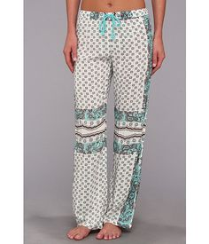 P.J. Salvage Challe Separates Sleep Pant Multi - 6pm.com
