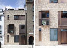 Casa in mattoni e bronzo su Old Church Street by TDO | Dd Arc Art