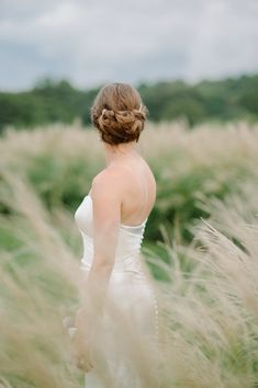 32 simple wedding dresses for elegant brides 00045 Wedding Updo, Wedding Hairstyles, Wedding Hair Inspiration, Elegant Bride, Simple Weddings, Gorgeous Hair, Maid Of Honor, Mother Of The Bride, Bridal Hair