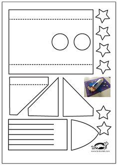 children activities, more than 2000 coloring pages Planets Activities, Activities For Boys, Library Activities, Space Activities, Kindergarten Activities, Rocket Craft, Diy Rocket, Creation Preschool Craft, Preschool Crafts